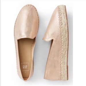 Gap Women's Rose Gold Loafer Espadrille